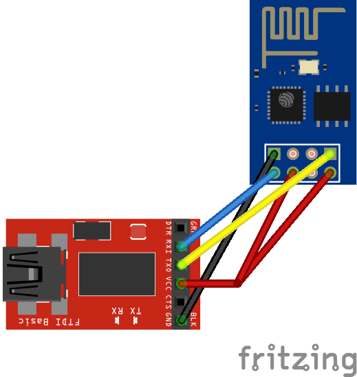 Playing With a ESP8266 WiFi Module | William Durand